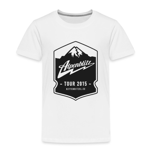 Alpenblitz Logo 2 - Kinder Premium T-Shirt