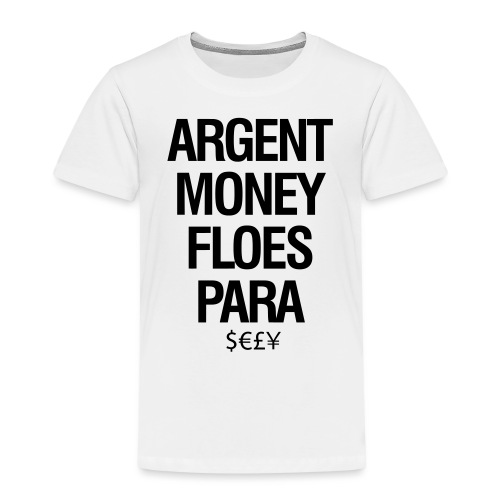 Money - Kinderen Premium T-shirt