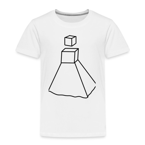 Design Robot Girl - T-shirt Premium Enfant