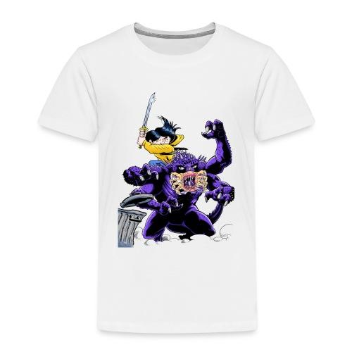 Chica cazadora de monstruos - Camiseta premium niño