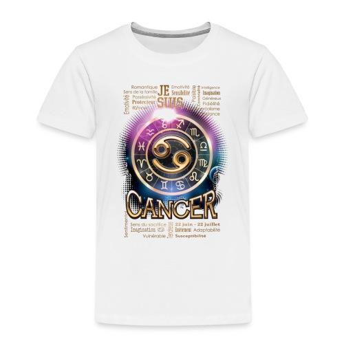 CANCER - T-shirt Premium Enfant
