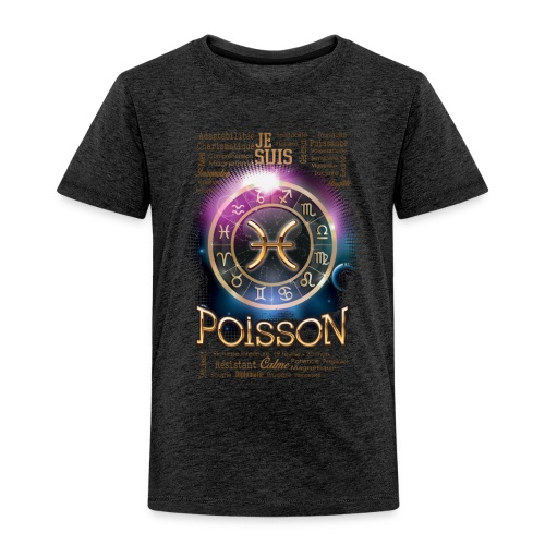 POISSONS - T-shirt Premium Enfant