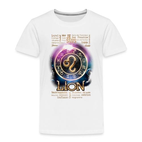 LION - T-shirt Premium Enfant