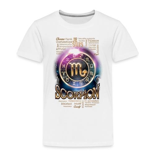 SCORPION - T-shirt Premium Enfant
