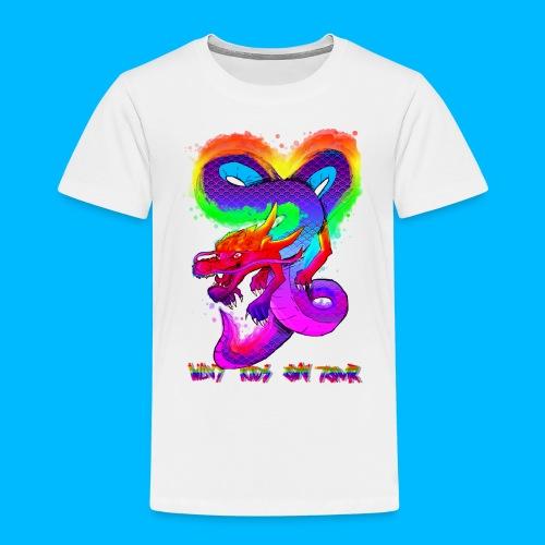 Wavy Kids On Tour Dragon - Kids' Premium T-Shirt