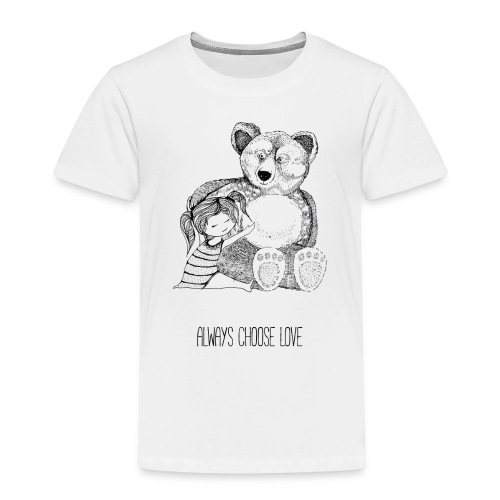 bear best friend - Kinder Premium T-Shirt