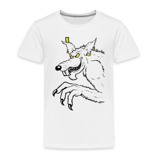 Monster Ratte - Kinder Premium T-Shirt
