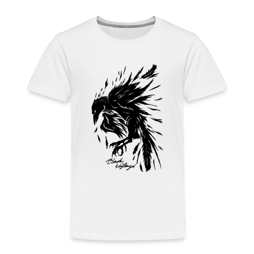 raven_tribal - Kinder Premium T-Shirt