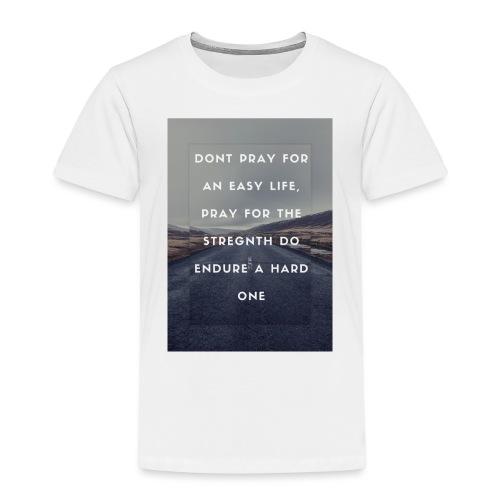 bruce lee quote - Premium-T-shirt barn