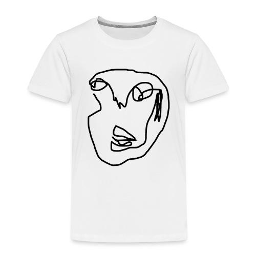 Kunst Gesicht - Kinder Premium T-Shirt