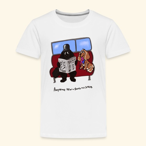 Socks and shares - Kids' Premium T-Shirt