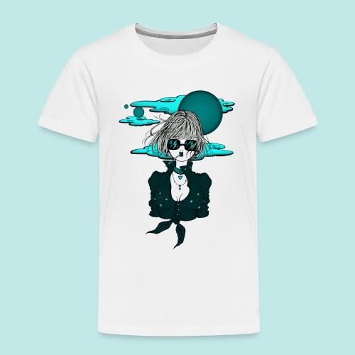 Femme manga rock avec lunettes de soleil - T-shirt Premium Enfant