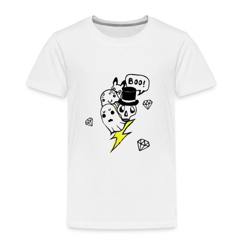 Boo! - Koszulka dziecięca Premium