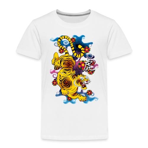 Japanese Tiger - Tattoo design - T-shirt Premium Enfant