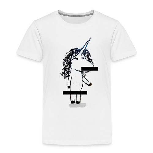 unicorno Censored - Maglietta Premium per bambini