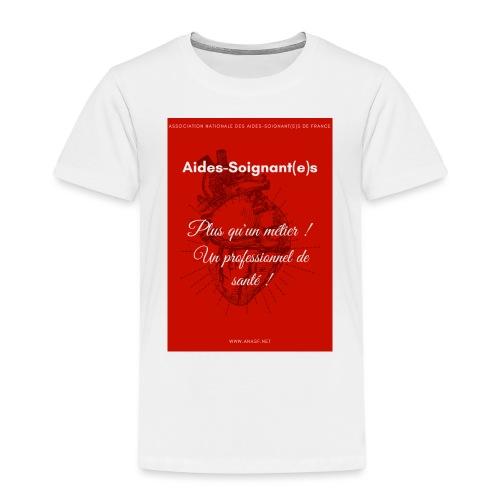 Association Nationale des aides soignant e s de fr - T-shirt Premium Enfant