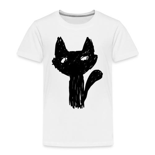 Katt Noir - Premium T-skjorte for barn