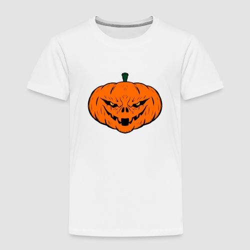 Evil Halloween Pumpkin - Kids' Premium T-Shirt