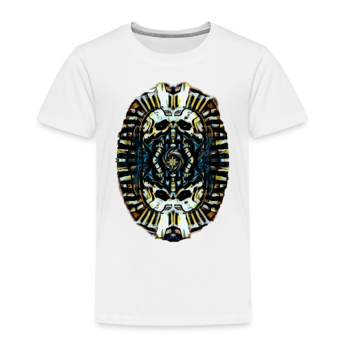 Steampunk Pharao - Kinder Premium T-Shirt