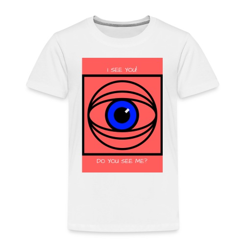 I SEE YOU! DO YOU SEE ME? - Premium-T-shirt barn