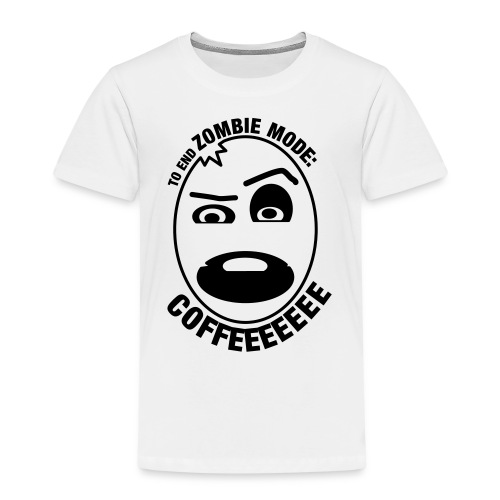 to_end_zombie_mode - Kinderen Premium T-shirt