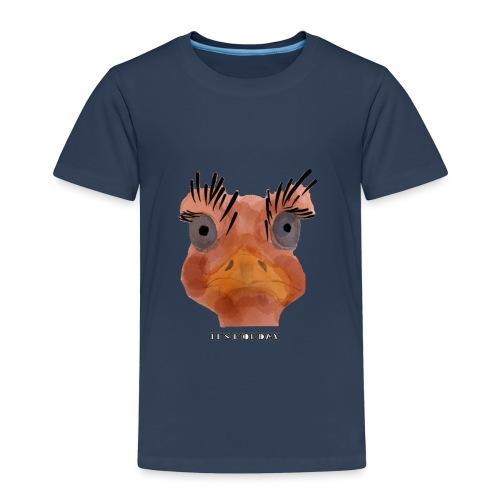 Srauss, again Monday, English writing - Kids' Premium T-Shirt