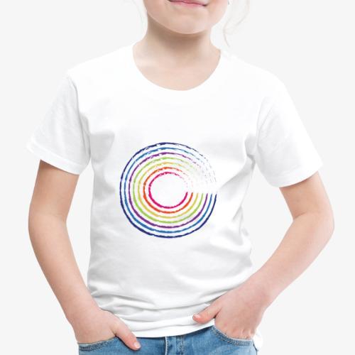 Circle rainbow - Maglietta Premium per bambini