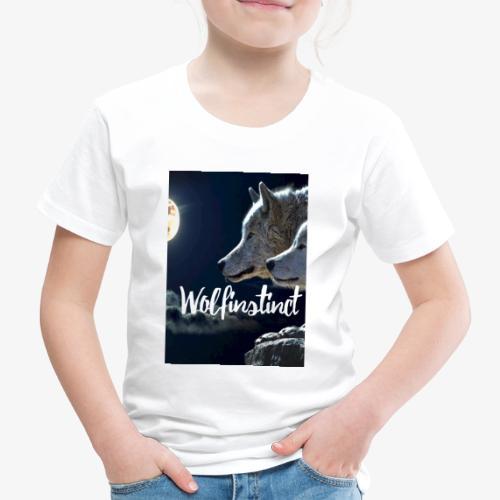 Wolfinstinct 2.0 - Kinder Premium T-Shirt