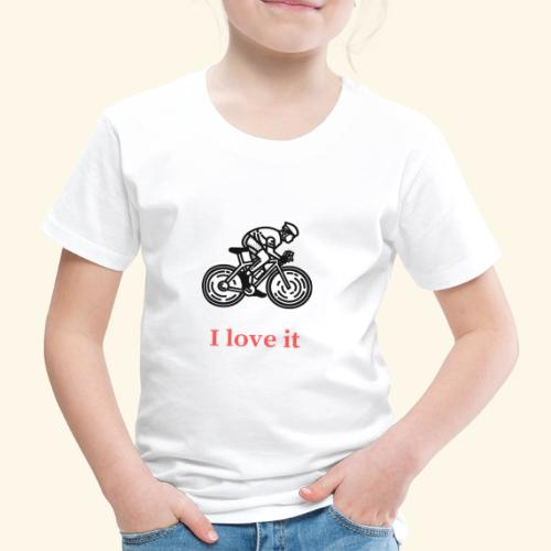 I love my bicycle - Koszulka dziecięca Premium