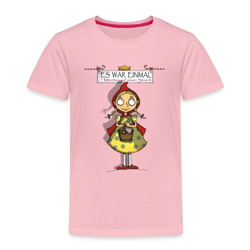 ES WAR EINMAL Rotkäppchen - Kinder Premium T-Shirt
