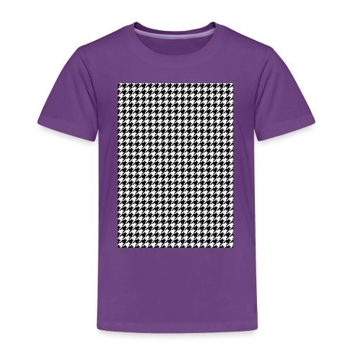 pied de poule v12 final01 - Kinderen Premium T-shirt