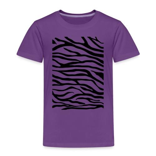 zebra v6 - Kinderen Premium T-shirt
