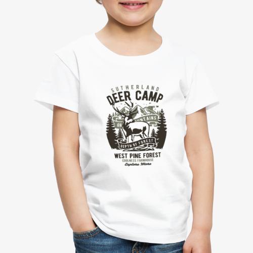 Camp de cerfs - T-shirt Premium Enfant