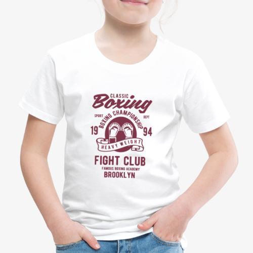 Classic Boxing - T-shirt Premium Enfant
