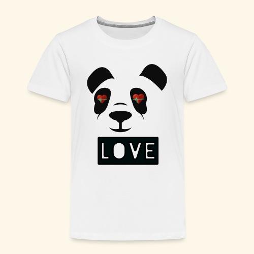 diseño Panda love - Camiseta premium niño