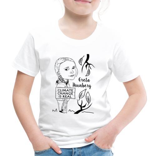climate change is real - Maglietta Premium per bambini
