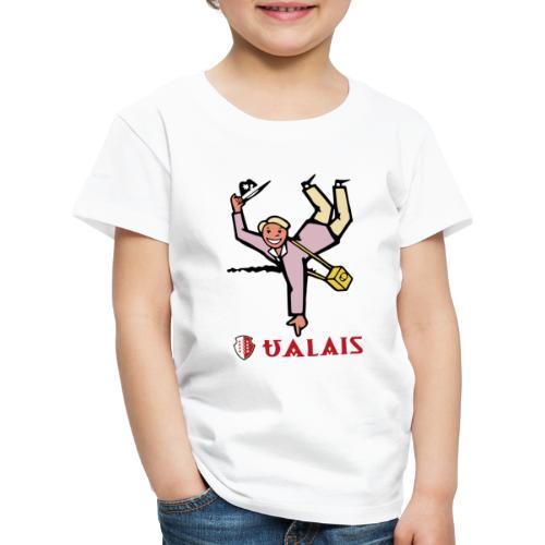 Valais Wallis - Vintage - Kinder Premium T-Shirt
