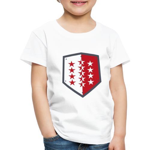 Wallis 1815 Valais - Kinder Premium T-Shirt