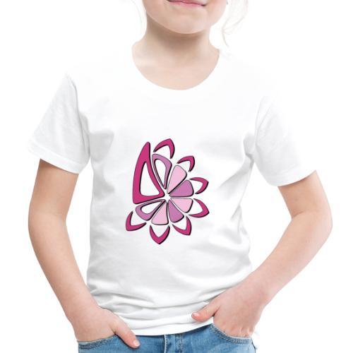 spicchi di sole multicolore rosa - Maglietta Premium per bambini
