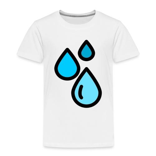 Gotas de Agua - Camiseta premium niño