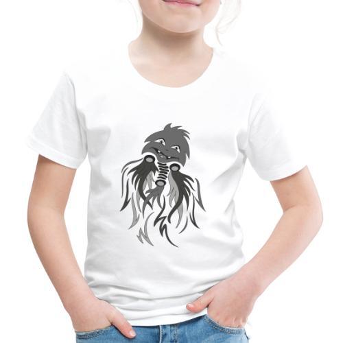 fantasma halloween grigio - Maglietta Premium per bambini