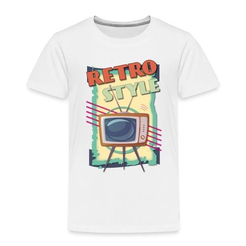 TV RETRO STYLE 01 - Maglietta Premium per bambini