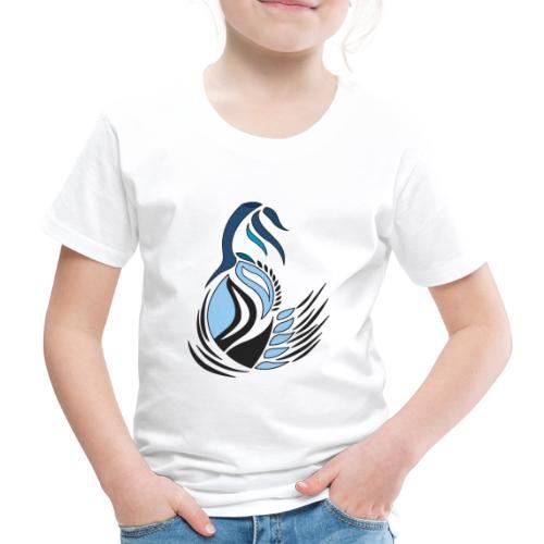 disegno bocciolo astratto - Maglietta Premium per bambini