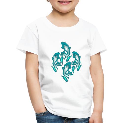 fiamme geometriche astratte - Maglietta Premium per bambini