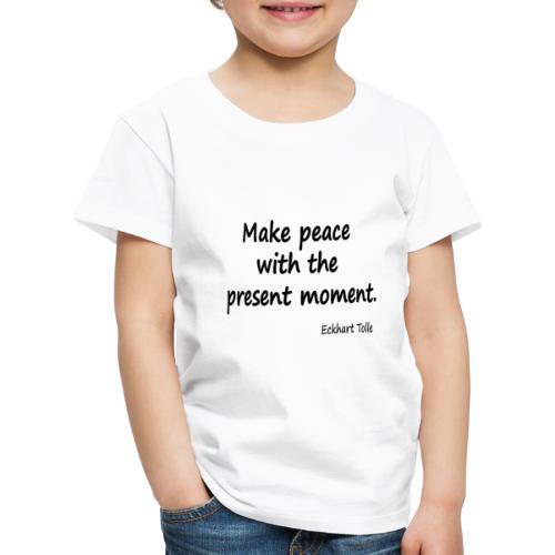 Make Peace - Kids' Premium T-Shirt