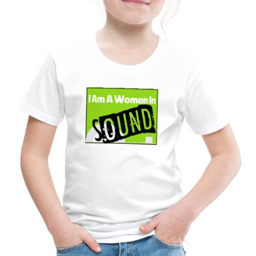 I am a woman in sound - Kids' Premium T-Shirt