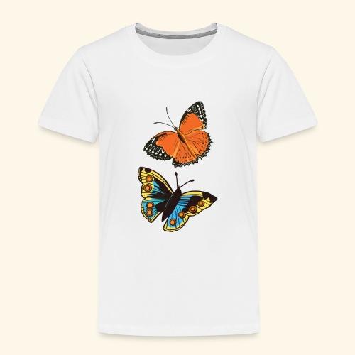 2 papillons - T-shirt Premium Enfant