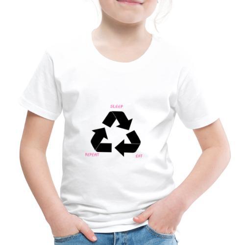 Sleep Eat Repeat - Kinder Premium T-Shirt