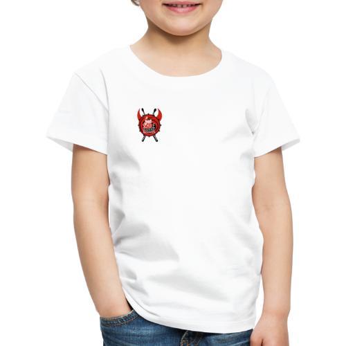 LOGO FSSM SCHOOLOFROCK Drumclass - Kinder Premium T-Shirt