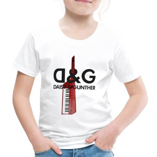 Met keytar-logo - Kinderen Premium T-shirt
